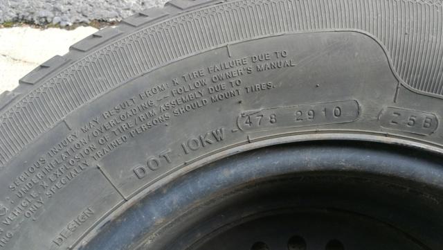 4 roues hiver sur jante acier 215/65R15 100H Img_2025