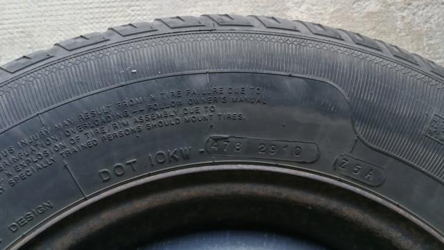 4 roues hiver sur jante acier 215/65R15 100H Img_2028