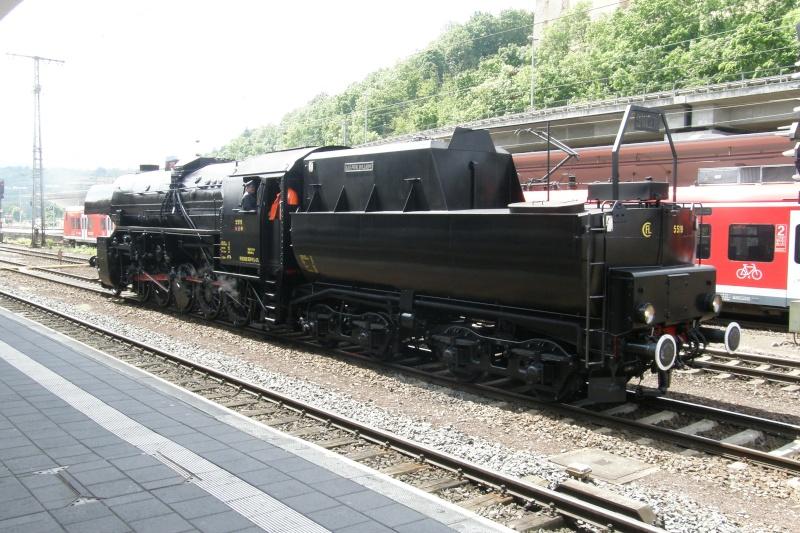 Voyage avec la CFL 5519 jusque Coblence et Fete d'été du musée du Train de Coblence P6022932