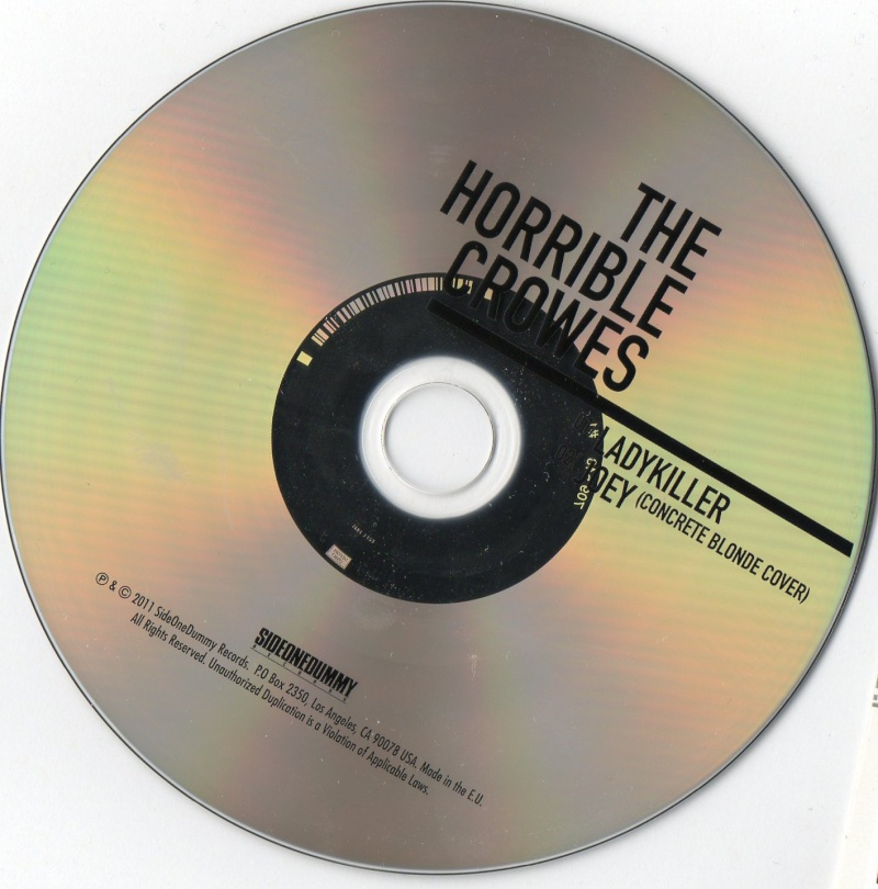 New Horrible Crowes promo cds Img02910