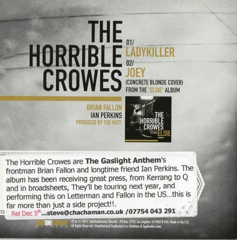 New Horrible Crowes promo cds Img03010