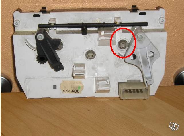 changer ampoule de commande de ventilation Nouvea18