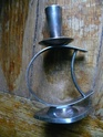 danish silver plated candlestick P1180520
