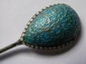 russian silver enamel spoon P1180616