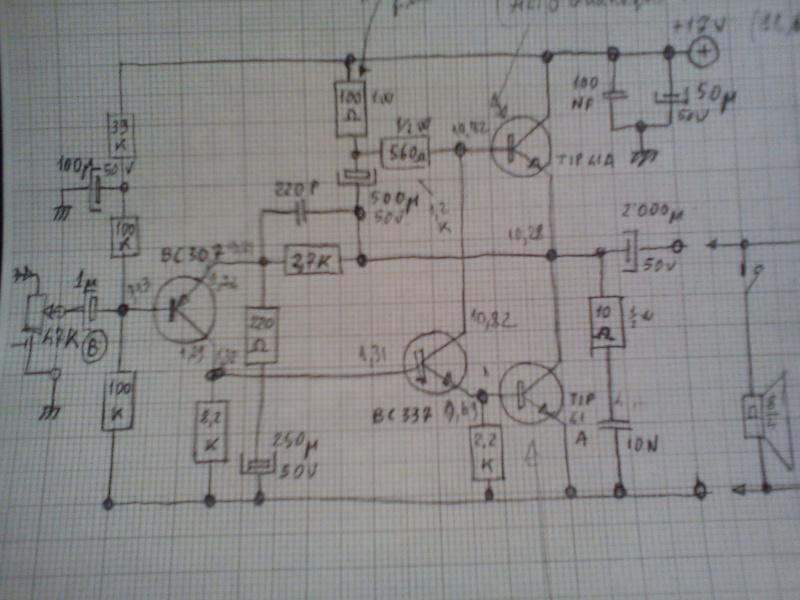 Ampli Classe A da 3 Watt dott. R. Borromei Dsc00010