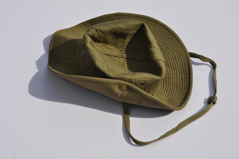 Chapeau de brousse Armée de l'Air daté 1956 Dsc_0110