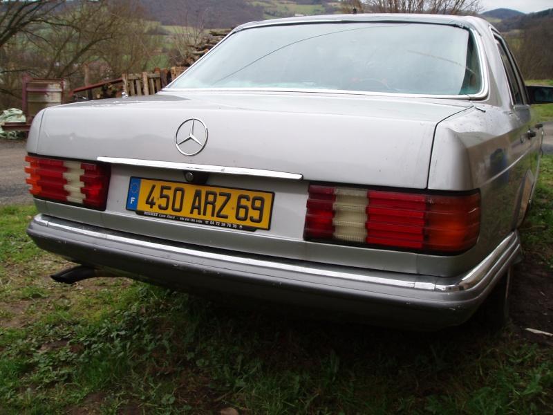 [Présentation] Ma nouvelle Mercedes 280SE du 17/10/1983 - Page 4 P1220012
