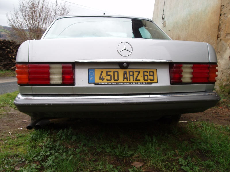 [Présentation] Ma nouvelle Mercedes 280SE du 17/10/1983 - Page 4 P1220013