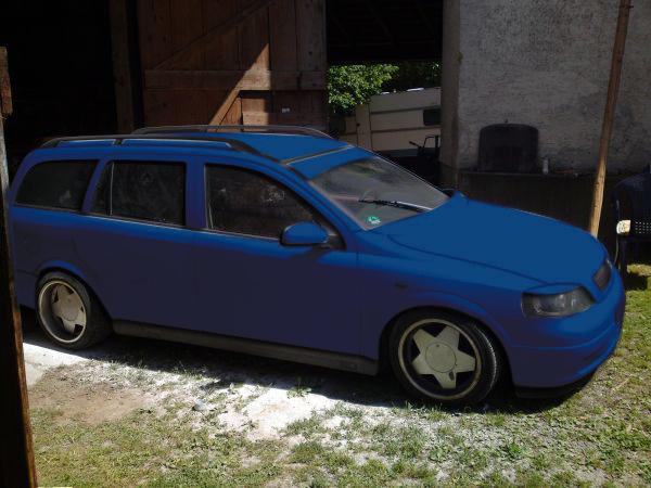 Astra G Caravan Mattgrau Blaufa10