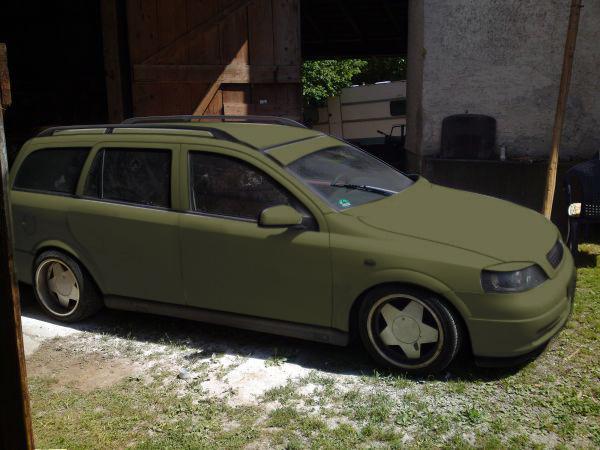 Astra G Caravan Mattgrau Natofa10