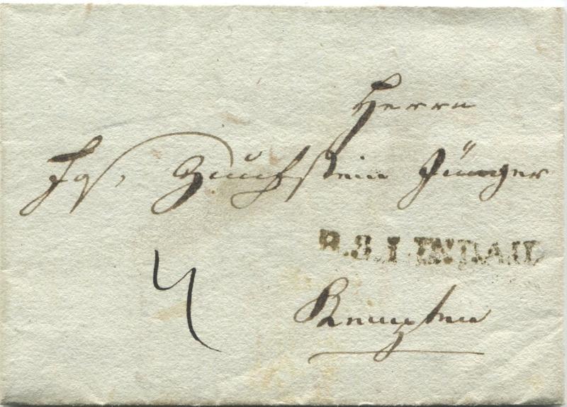 Briefe von - und nach Vorarlberg aus der bayrischen Zeit (1.1.1806 - 7.7.1814) A110