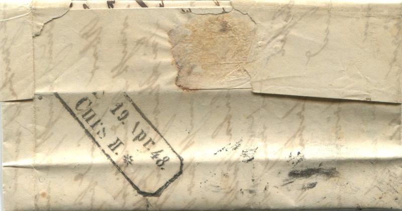Der Postvertrag Österreich - Bayern von 1842 Bregen13