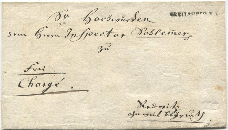 Marktredwitz (Amt Redwitz) (bis 13.4.1816 zu Österreich – ab 14.4.1816 zu Bayern) Crails10