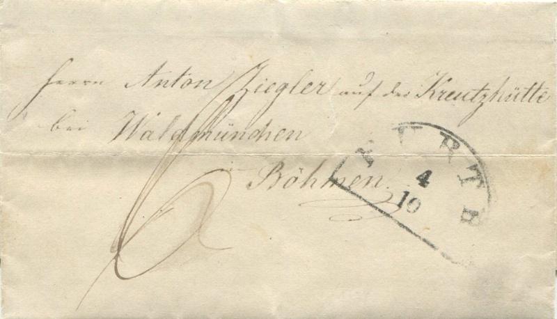 Der Postvertrag Österreich - Bayern von 1842 - Seite 2 Farth-10