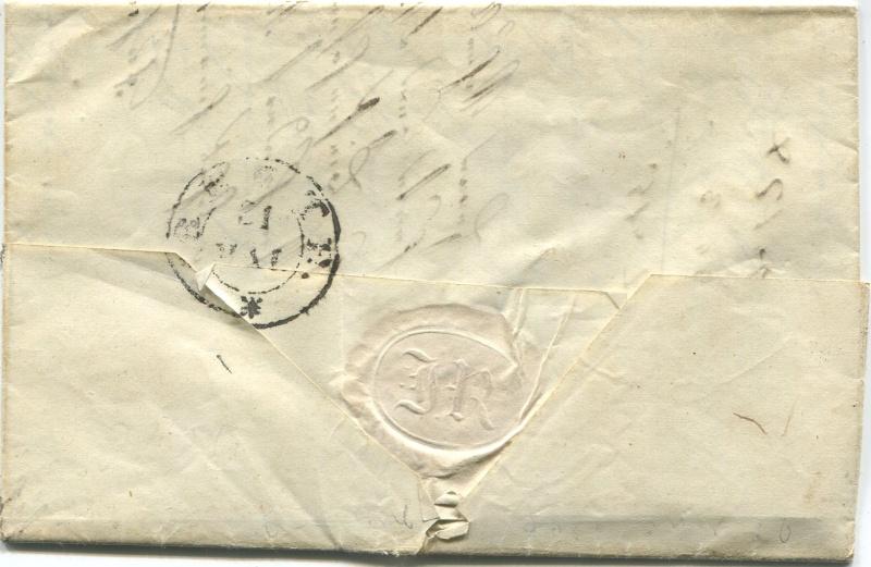 Der Postvertrag Österreich - Bayern von 1842 Fassen11
