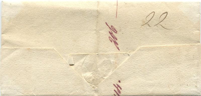 Der Postvertrag Österreich - Bayern von 1842 Granwa11