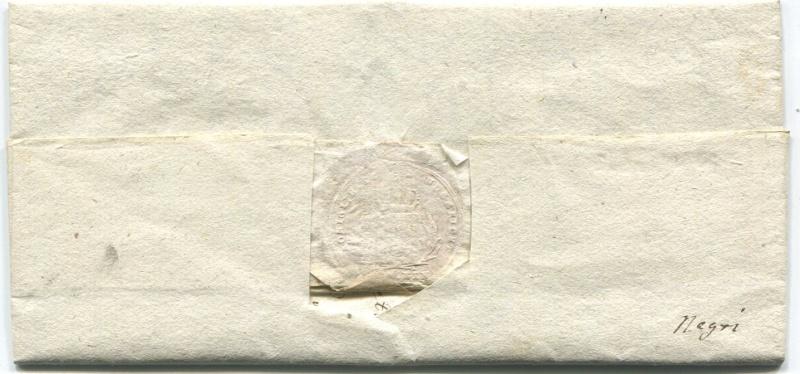 Briefe von - und nach Salzburg mit Berchtesgaden aus der bayrischen Zeit (12.9.1810 bis 30.4.1816) zu Bayern; Berchtesgaden blieb bei Bayern Hallei11