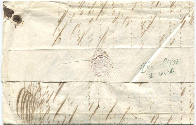 Der Postvertrag Österreich - Bayern von 1842 Lindau11