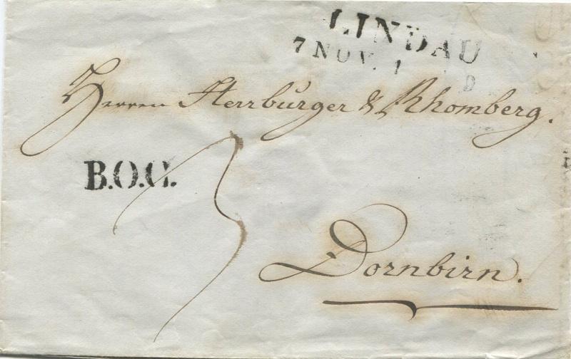 Der Postvertrag Österreich - Bayern von 1842 - Seite 2 Lindau12