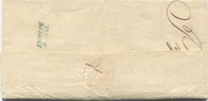 Der Postvertrag Österreich - Bayern von 1842 Mahldo11
