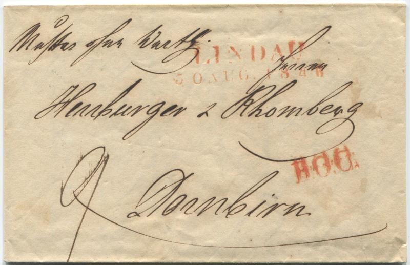 Der Postvertrag Österreich - Bayern von 1842 Mow_li10