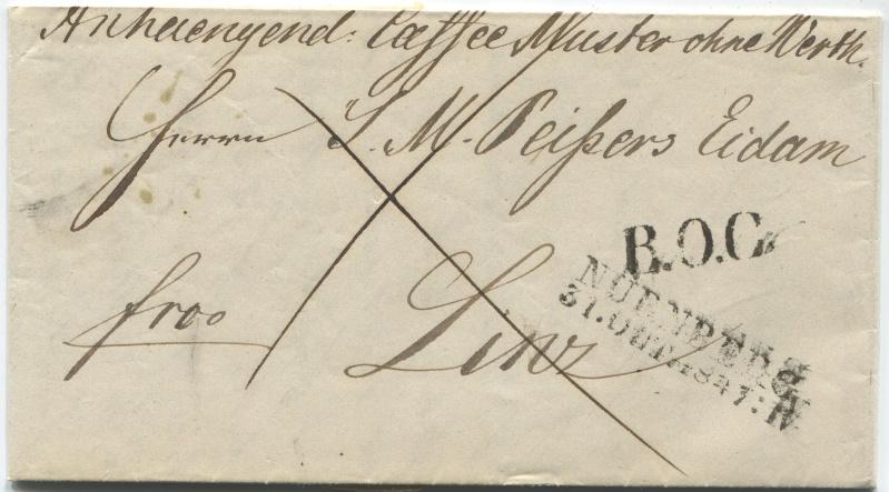 Der Postvertrag Österreich - Bayern von 1842 Mow_na10