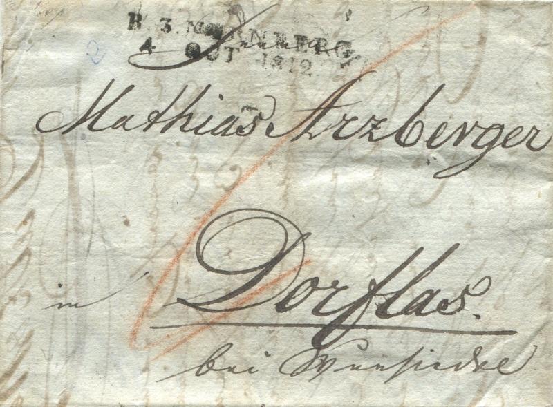 Marktredwitz (Amt Redwitz) (bis 13.4.1816 zu Österreich – ab 14.4.1816 zu Bayern) Narnbe10