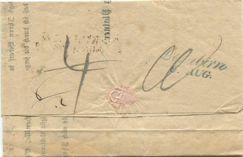 Der Postvertrag Österreich - Bayern von 1842 Narnbe12