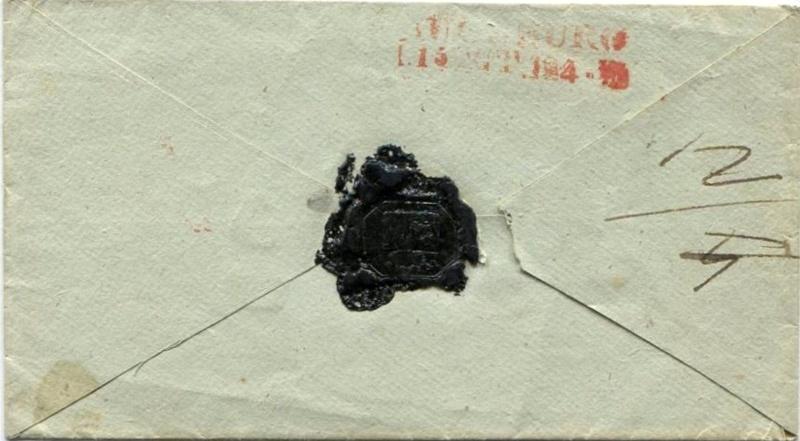 Der Postvertrag Österreich - Bayern von 1842 Oedenb11