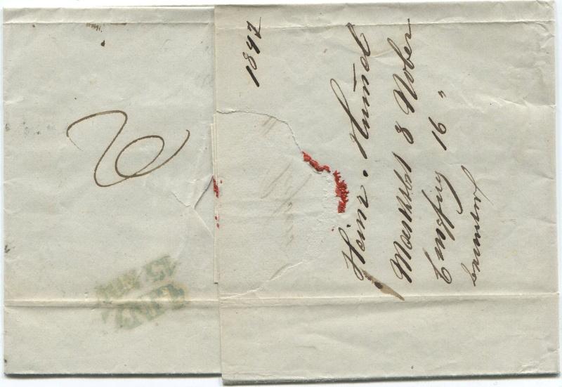Der Postvertrag Österreich - Bayern von 1842 Passau11