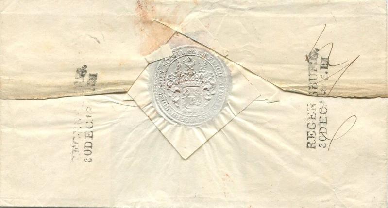 Der Postvertrag Österreich - Bayern von 1842 Preayb11