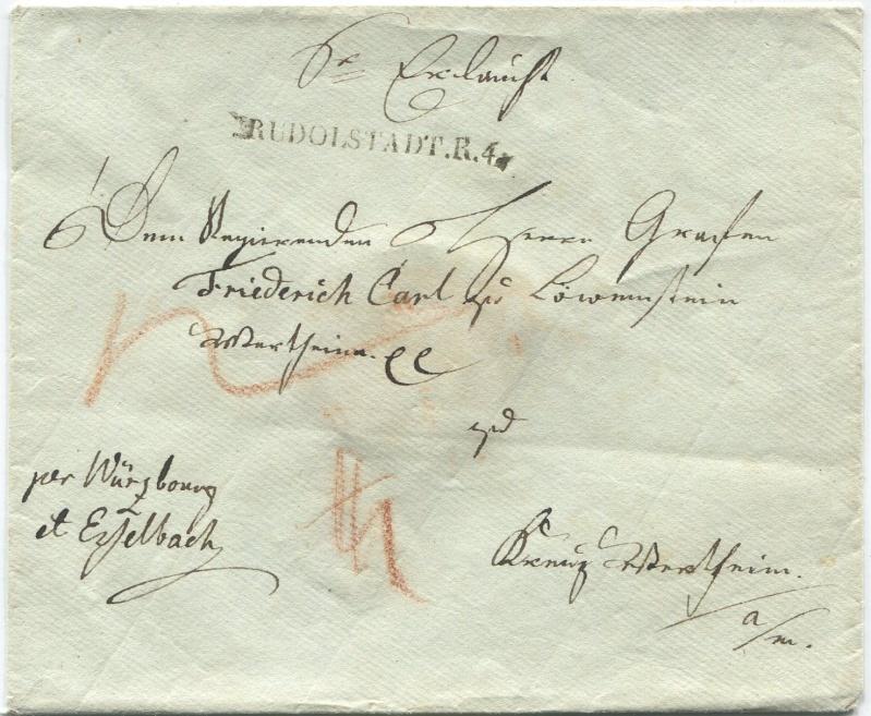 Großherzogtum Würzburg (bis 31.1.1806 zu Bayern / 1.2.1806 bis 25.5.1814 zu Österreich /  ab 26.6.1814 zu Bayern) Rudols10