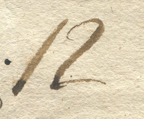 Briefe von - und nach Salzburg mit Berchtesgaden aus der bayrischen Zeit (12.9.1810 bis 30.4.1816) zu Bayern; Berchtesgaden blieb bei Bayern Salzbu14