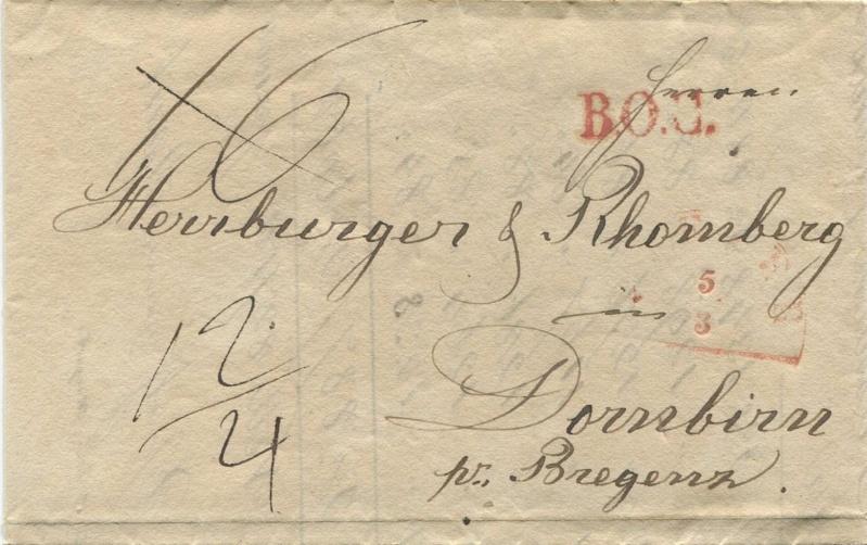 Der Postvertrag Österreich - Bayern von 1842 Speyer10