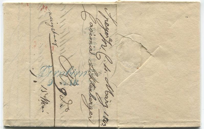 Der Postvertrag Österreich - Bayern von 1842 Speyer11