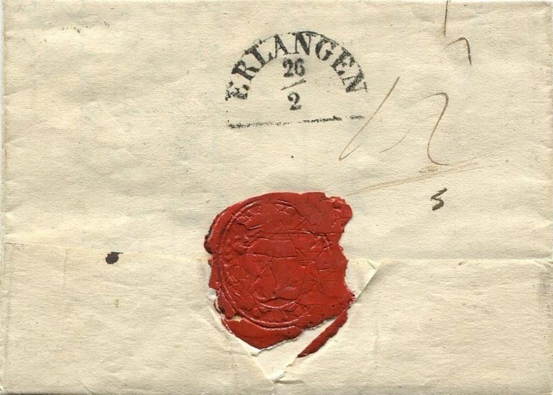 Der Postvertrag Österreich - Bayern von 1842 Venedi12