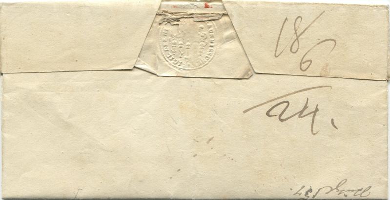 Der Postvertrag Österreich - Bayern von 1842 Wien-d11