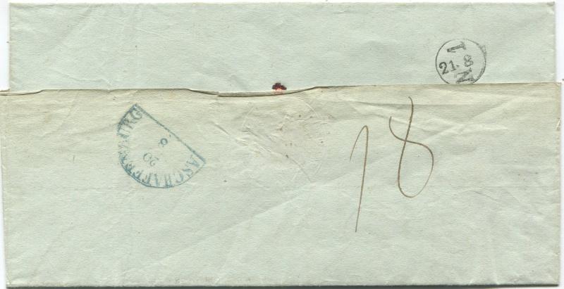 Der Postvertrag Österreich - Bayern von 1842 Wien-k11