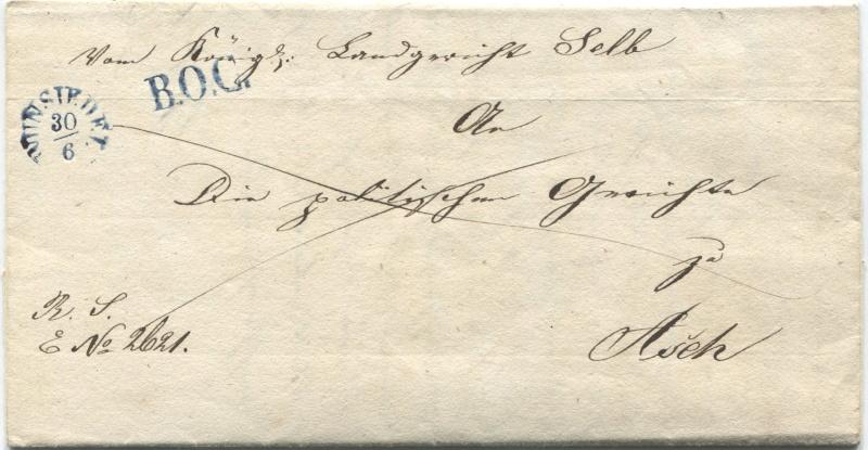 Der Postvertrag Österreich - Bayern von 1842 - Seite 2 Wunsie11