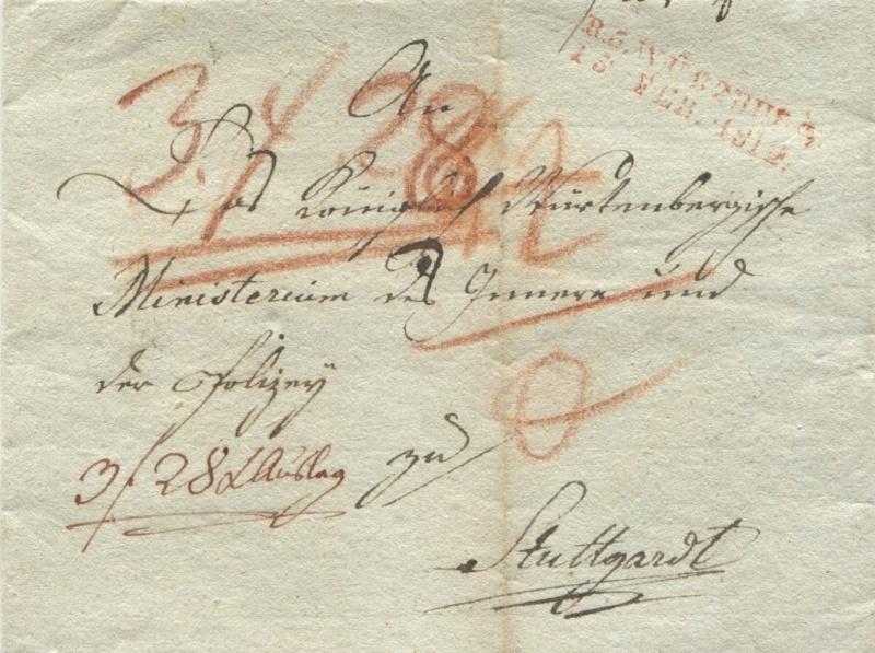Großherzogtum Würzburg (bis 31.1.1806 zu Bayern / 1.2.1806 bis 25.5.1814 zu Österreich /  ab 26.6.1814 zu Bayern) Wzbg_s10