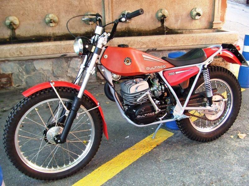 on y va du souvenir : première moto Bultac11