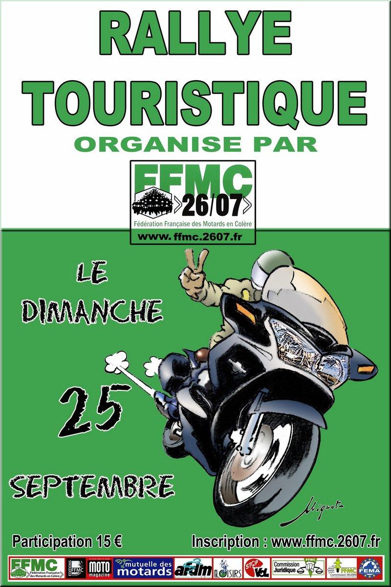 dim 25 sept - BALADE FFMC - Bourg les Valence Affich10