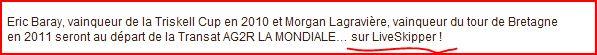 Transat AG2R LA MONDIALE Capt1552
