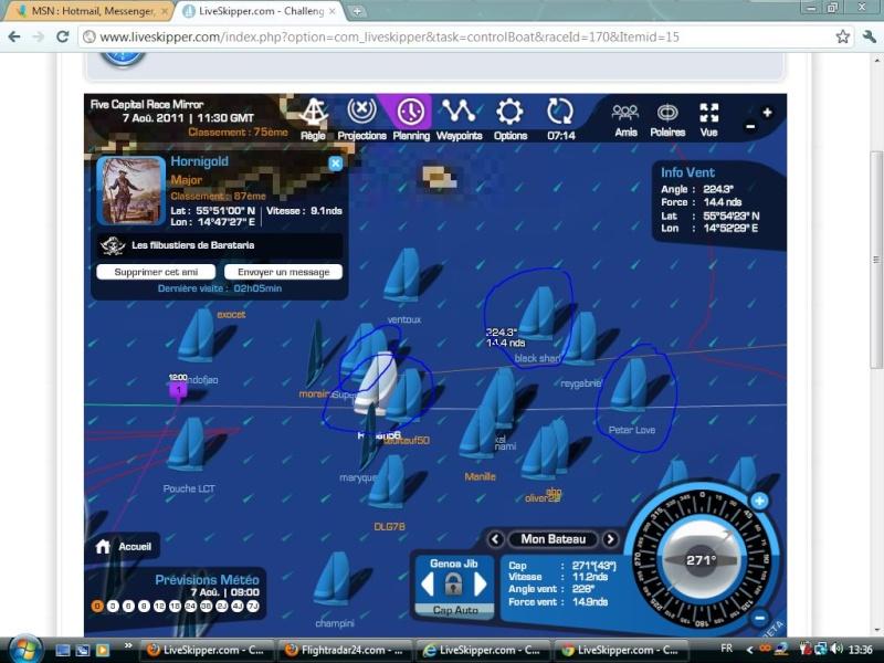 Five Capital Race Mirror  Départ le 06/08/2011 à 12h00 GMT Captur91