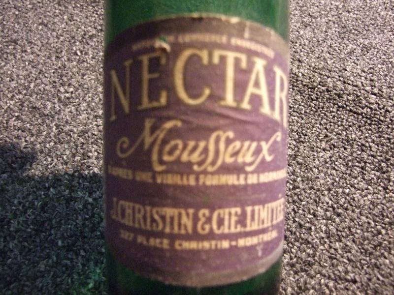 Christin 12 oz à étiquette Nectar Mousseux + bouchon 2011_020