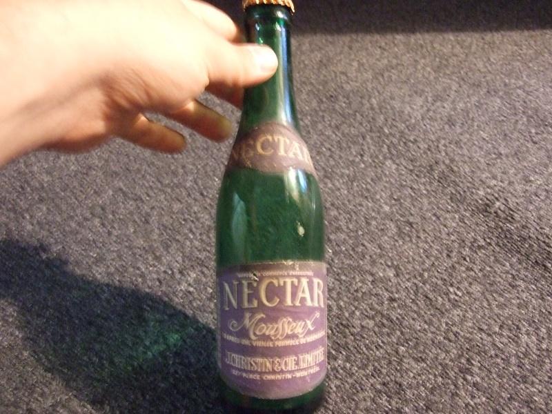 Christin 12 oz à étiquette Nectar Mousseux + bouchon 2011_022