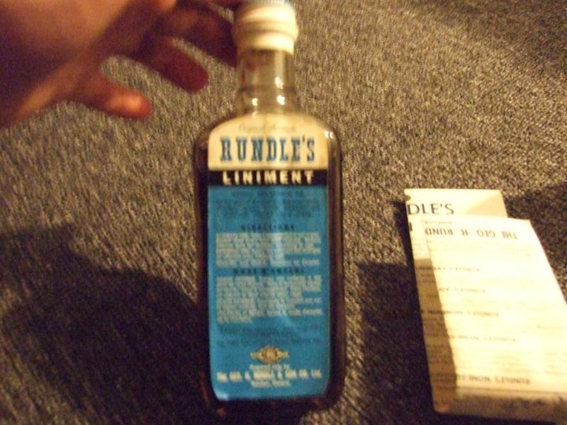 Rundle's Liniment quelle année? Rundle12