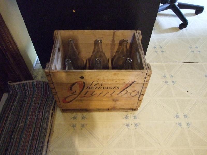 Caisse de liquer Jumbo + 6 bouteilles + bouchon Septem32