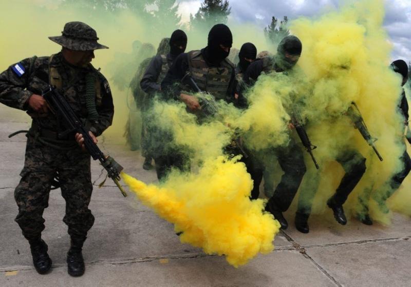 armée du Honduras. 78765210