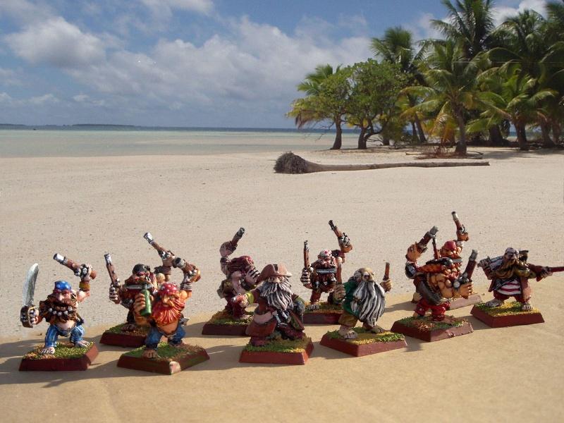 Armée de pirates nains Plage-10